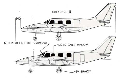 Cheyenne Ii Xl Business Turboprop Specifications