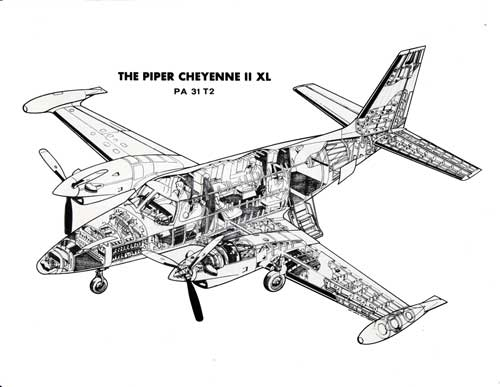 cheyenne ii xl business turboprop specifications bangor punta archives
