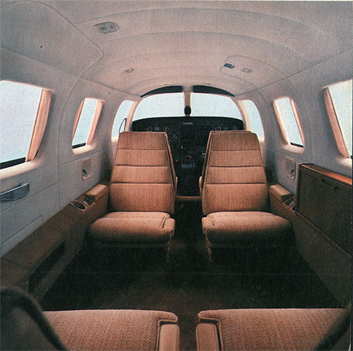 Pressurized Cabin of the New Piper Malibu