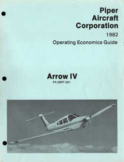 1982 Operating Economics Guide for the Arrow IV