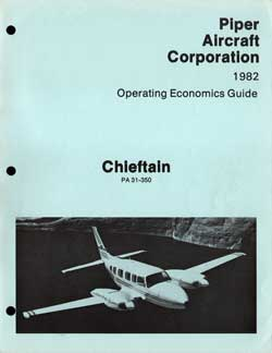 1982 Operating Economics Guide for the Chieftain