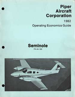 1982 Operating Economics Guide for the Seminole