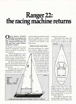 Ranger 22 Yacht: The Racing Machine Returns (1977)