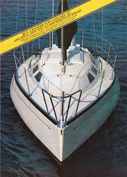 The Ranger 28: Most advanced production cruiser-racer we've ever built (1977)