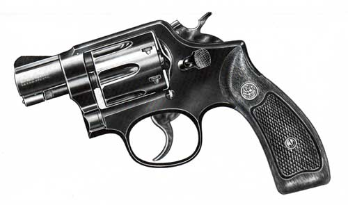 Smith & Wesson 38 Caliber Military and Police Revolver Model No. 12