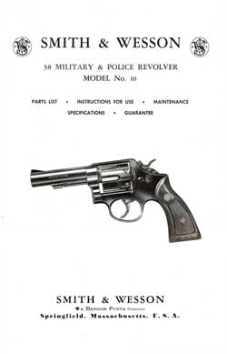 Smith & Wesson 38 Military & Police Revolver Model 10 (1967)