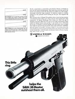 Smith & Wesson 38 Caliber Master Pistol Model 52 (1969)
