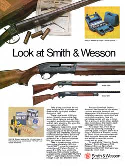 Look at Smith & Wesson - Models 1000 & 916 (1974)