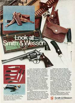 Look at Smith & Wesson - 1974 Advertisment