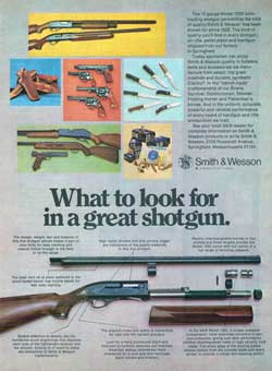 What to look for in a great shotgun (1975)