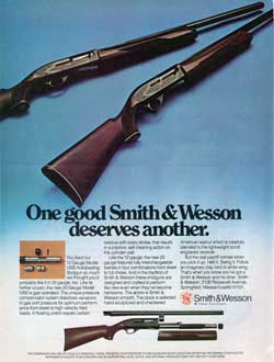 Smith & Wesson Model 1000 Autoloading Shotgun (1976)