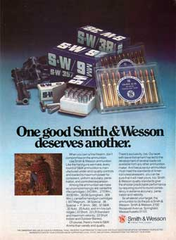 One good Smith & Wesson deserves another (1976)