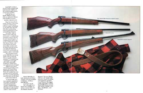 Smith & Wesson Model 1500 Rifles | Bangor Punta Archives