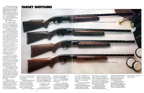 Four Target Shotguns From Smith & Wesson