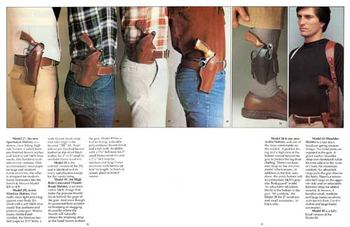 Smith & Wesson Leather Handgun Holsters (1982)