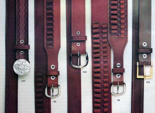 Smith & Wesson Quality Leather Belts - Models 117, 92, 114, 94 and 131