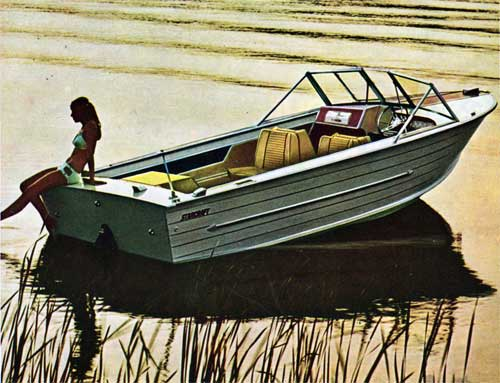 The Starcraft Holiday-V, marine aluminum runabout