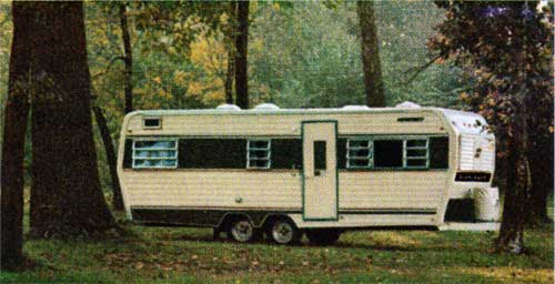 Exterior View of the Starcraft Wander-Star Travel Trailer