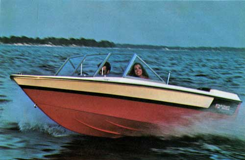 The Starcraft 16 Foot American O.B. Runabout - 1972