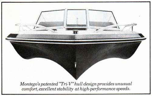 Montego's Patented Tri-V Hull Design