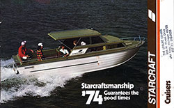 Starcraft Cruisers for 1974 - Good Times Guaranteed (1973)