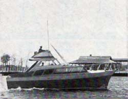 Ulrichsen 33 Foot Trunk Cabin Power Boat
