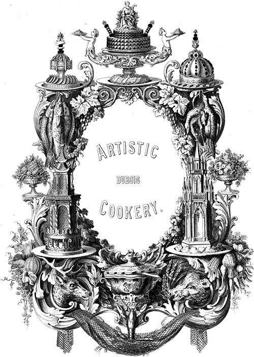 Artistic Cookery - Introduction - 1870