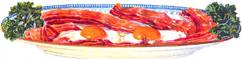 Bacon and Eggs - A Traditional American Breakfast