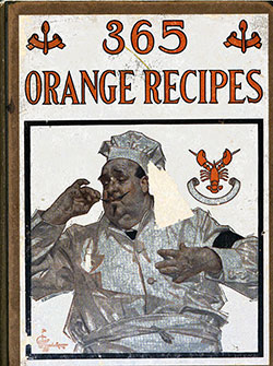 365 Orange Recipes - Vintage Cookbook