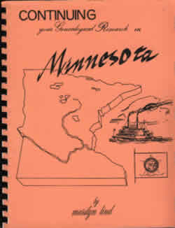 Continuing Your Genealogical Research in Minnesota