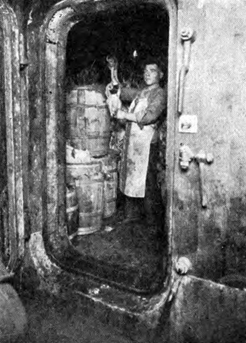Cold Storage Room on a Steamship