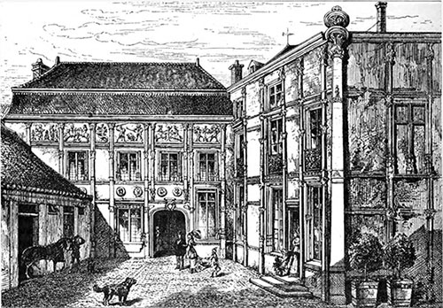 Renaissance House at Reims, in Which Madame Clicquot Resided