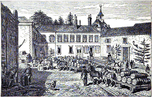The Clicquot-Werlé Established at Reims