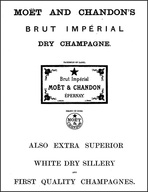 Moët and Chandon's First Quality Champagnes