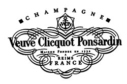 Present Day Label of La Veuve Clicquot Ponsardin