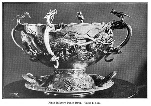 Ninth Infantry Punch Bowl – Value $15,000 in 1909