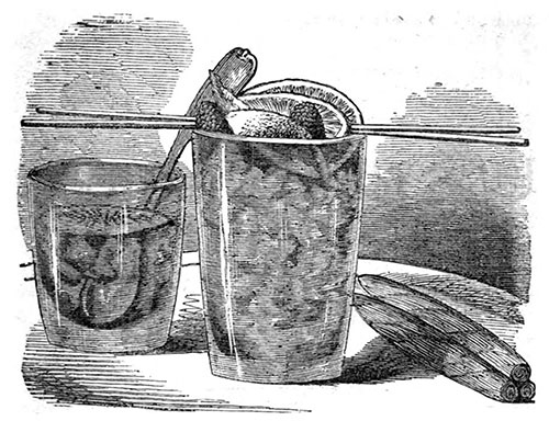 Brandy Punch © 1862 How to Mix Drinks