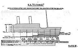 SS Titanic: Rate of Inflow of the Sea During the First Ten Minutes After the Collision