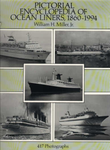 Front Cover, Pictorial Encyclopedia of Ocean Liners, 1860-1994 (1994)