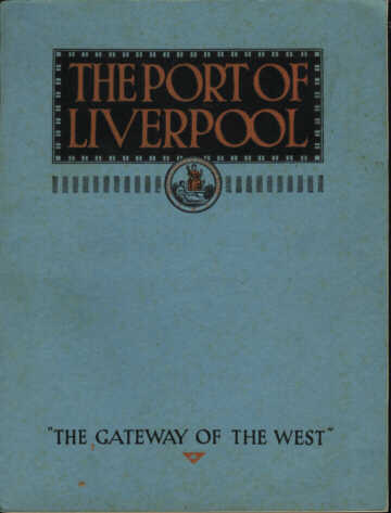 Front Cover, The Port of Liverpool: Ninth Edition (1935)
