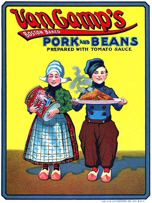 Van Camp's Boston Baked Pork and Beans © 1912