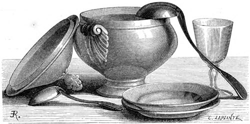 Soup Tureen and Accessories