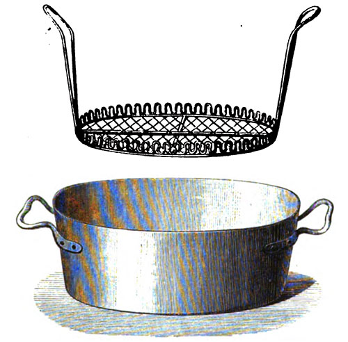 Frying Kettle with Basket Drainer