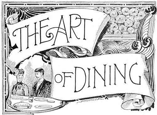 Epicurus - The Fine Art of Dining - 1908