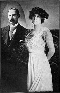 Colonel John Jacob Astor with His Young Bride. Col. Astor Perished with the Titanic, His Wife Was Rescued