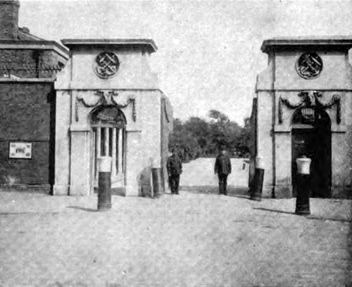 THE MAIN GATE OF THE ROYAL VICTUALLING YARD, DEPTFORD
