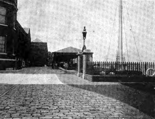 THE WATER GATE AND WHARF.