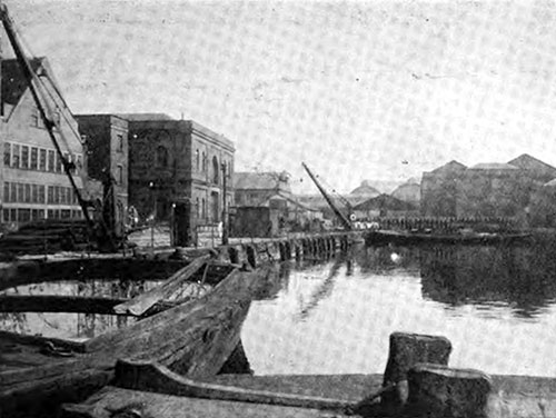 THE MAST POND AND STORES