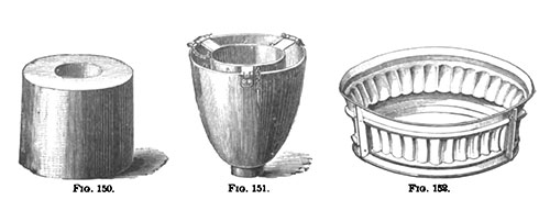 """Pain"" and Pudding Cylindrical Molds"