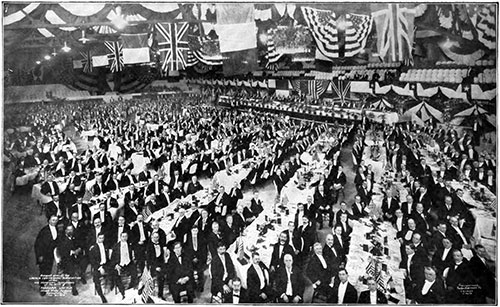 Twenty-Thousand-Dollar Banquet - 1910